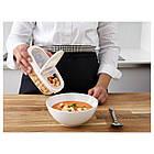 IKEA 365+ Контейнер+крышка д/сухих продуктов, прозрачный, белый 800.667.18, фото 2