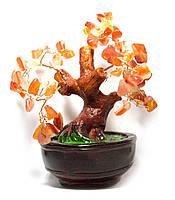 Дерево с коричневыми камнями (15х16х14 см)(801-804)