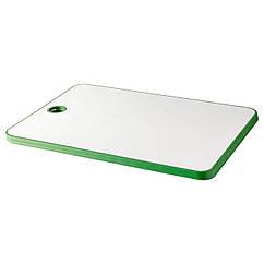MATLUST Доска разделочная, зеленый/белый 702.334.16
