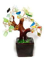 Дерево с разноцветными камнями (15х16х14 см)(801-804)