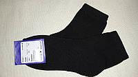 Носки махровые подросток черного цвета, 22 грн