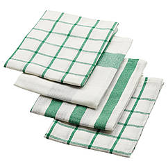ELLY Полотенце кухонное, белый, зеленый 402.777.65