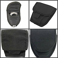 Текстильный чехол (подсумок) для классических наручников. Полиция Великобритании, оригинал.