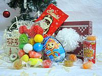Новогодний детский набор со сладостями Арт.01