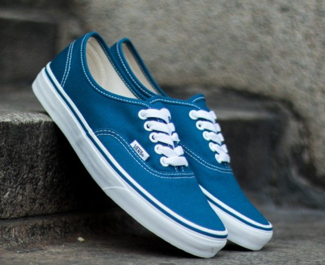 Кеды мужские Vans 19z синие оригинал