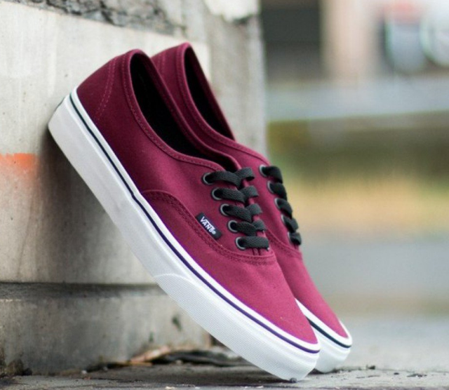 Кеды мужские Vans Authentic Low (bordeaux) - 49z оригинал