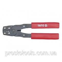 Клещи для обжимки клемм 180 мм Yato  YT-2255