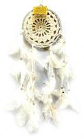 Ловец снов белый кружевной (12,5х30 см)