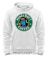 Толстовка Майнкрафт Minecraft COFFEE