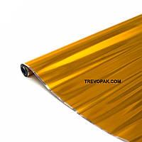 """Металлизированная пленка для цветов и подарков """"Фольга желтая"""" 0,5 кг*600мм"""