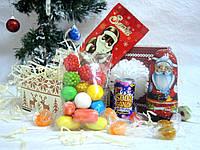 Новогодний детский набор со сладостями Арт.04