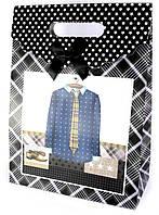 "Пакет подарочный картон ""Одежда"" (25х11х32 см)"