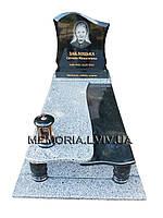 Одинарний гранітний памятник 1118