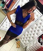 Платье / креп-костюмка, гипюр / Украина, фото 1