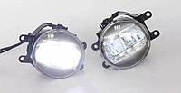 Противотуманные фары в бампер Sport Luxury LED (светодиодные) TOYOTA Highlander 2014+ г.в.
