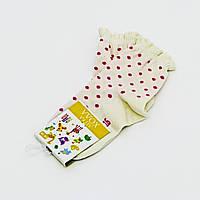 Носки для девочки в горошек