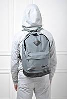 Модный рюкзак найк Nike серый