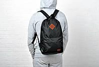 Молодежный рюкзак найк  - черный