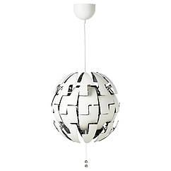 IKEA PS 2014 Подвесной светильник, белый, серебристый 903.114.94