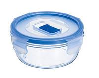 Контейнер для еды Luminarc Pure Box круглая герметическая 420мл ударопрочное стекло (7681H/J5636/8762L)