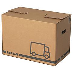 JÄTTENE Упаковочная коробка, коричневый 600.471.51