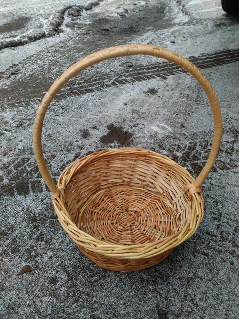 Подарочные плетеные корзинки из лозы