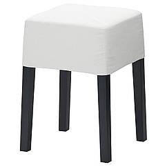NILS Табурет, черный, Блекинге белый 098.503.84