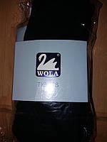 Дитячі махрові колготи WOLA розмір 150 колір чорний
