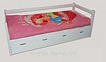 Кровать деревянная односпальная детская