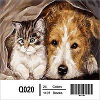 Картина на холсте по номерам Q020
