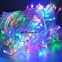Гирлянда елочная новогодняя 300 LED, 24 метра
