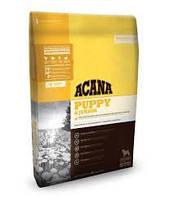 Acana PUPPY & JUNIOR (АКАНА Паппи энд Джуниор) - корм для щенков средних пород (цыпленок/рыба), 11.4кг