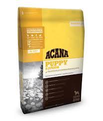 Acana PUPPY & JUNIOR 0.34 кг - корм для щенков средних пород (цыпленок/рыба)