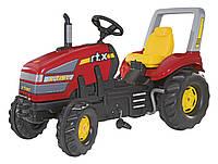 Трактор педальный с тормозом X trac Rolly Toys красный