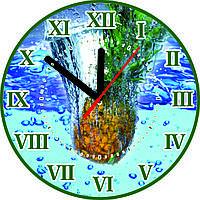 Часы настенные Ананас