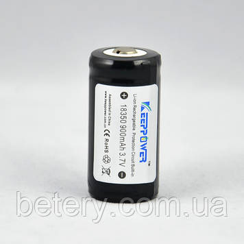 Аккумулятор Li-ion Keeppower 18350 (3.6v 800mAh)
