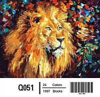 Картина на холсте по номерам Q051