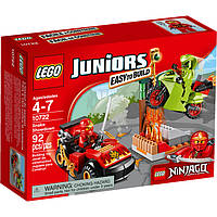 Конструктор LEGO серия Juniors Juniors Схватка со змеями 10722