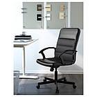Кресло рабочее IKEA RENBERGET Бумстад черный 203.394.20, фото 2