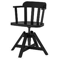FEODOR Вращающееся легкое кресло, черный