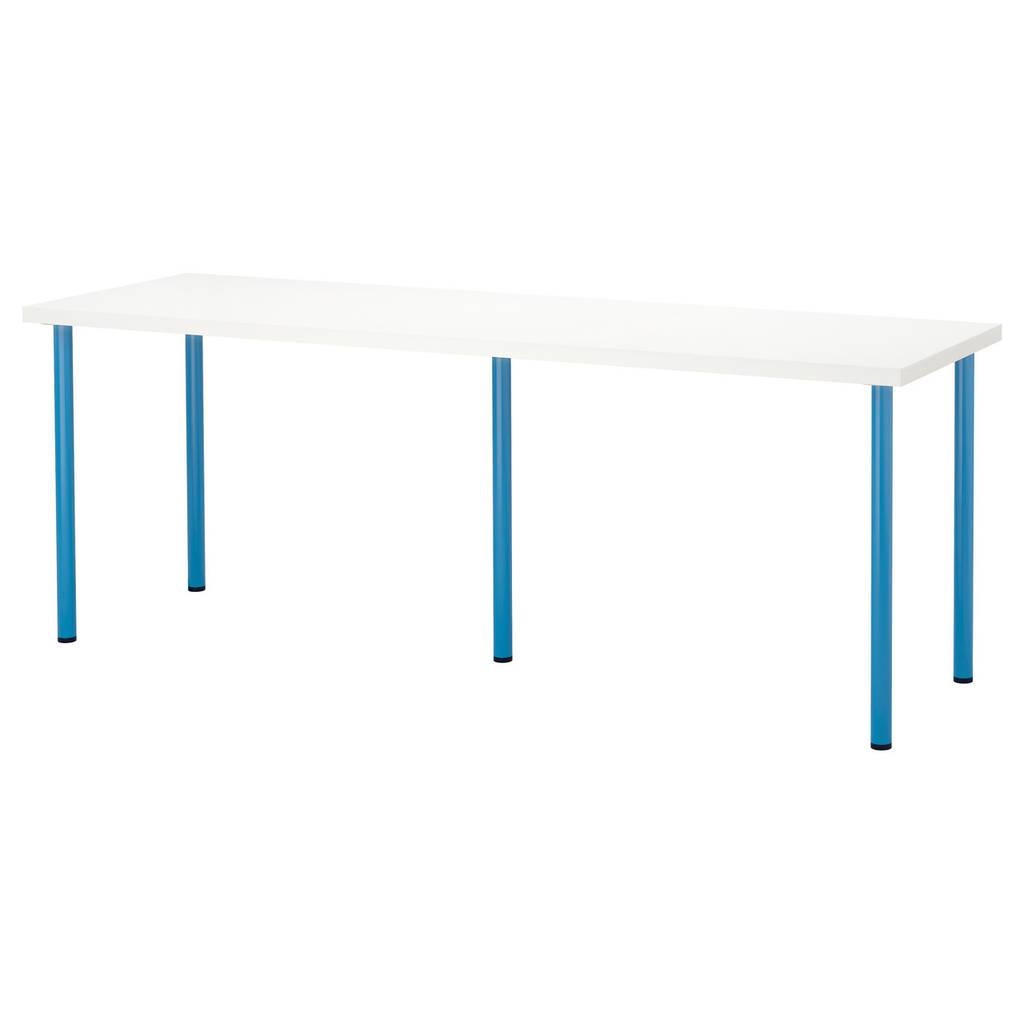 LINNMON / ADILS Стол, белый, синий
