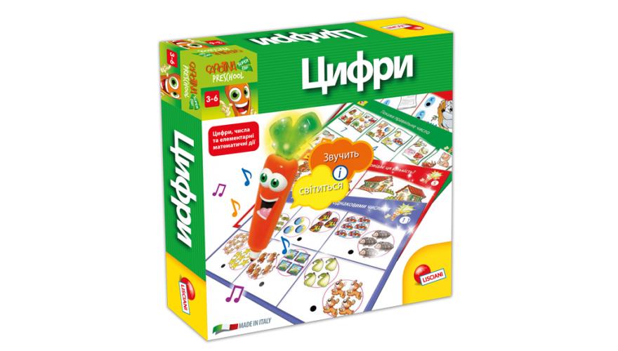 Настольная игра Lisciani Carotina Цифры УКР (U36714B)