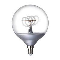 NITTIO СВЕТОДИОДНАЯ лампа E14, шар серебро