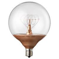NITTIO Żarówka LED E14, kula kolor miedziany