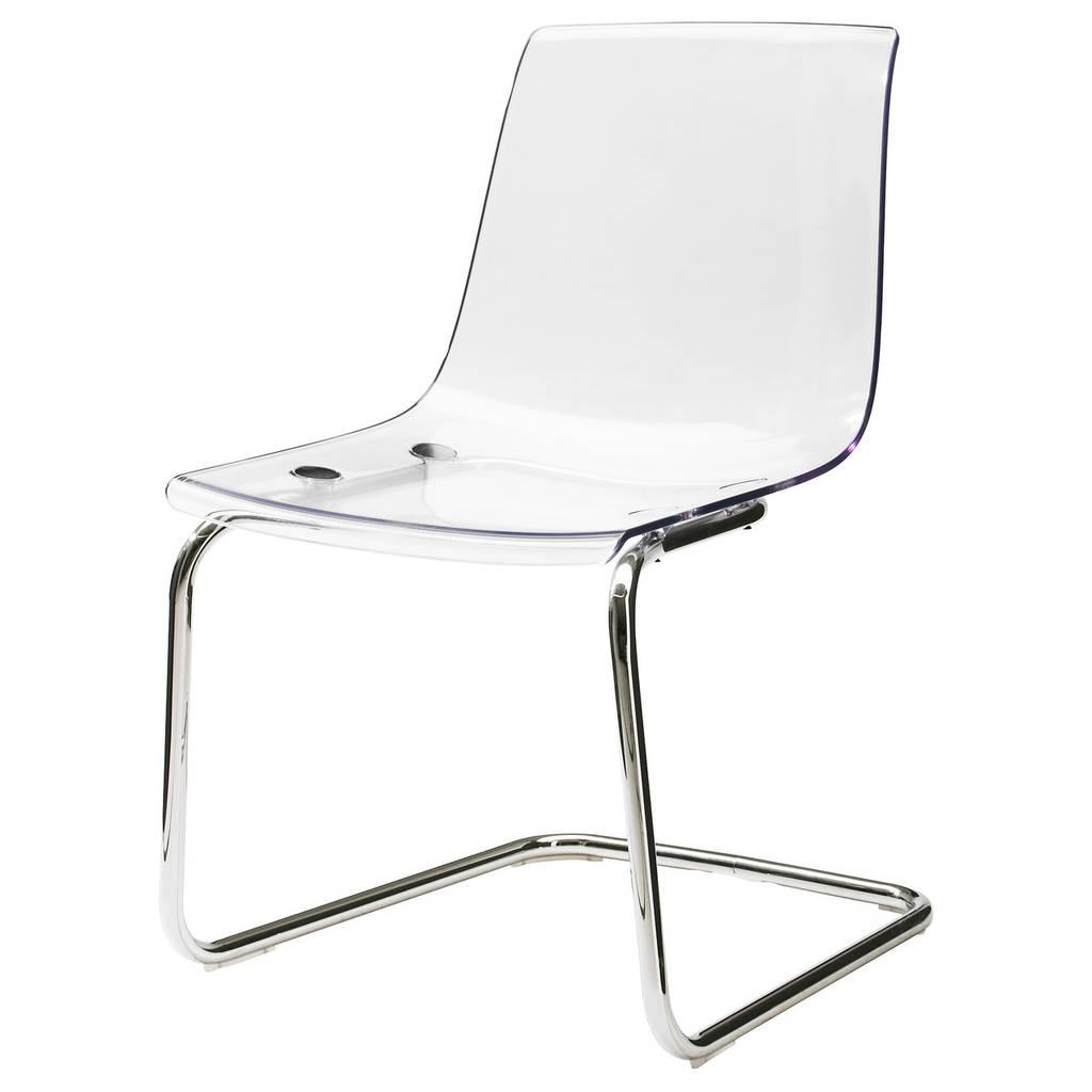 Стул рабочий IKEA TOBIAS белый хром 803.496.71