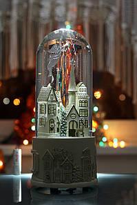 Эксклюзивный подарок Музыкальная Колба Город с флюгелем