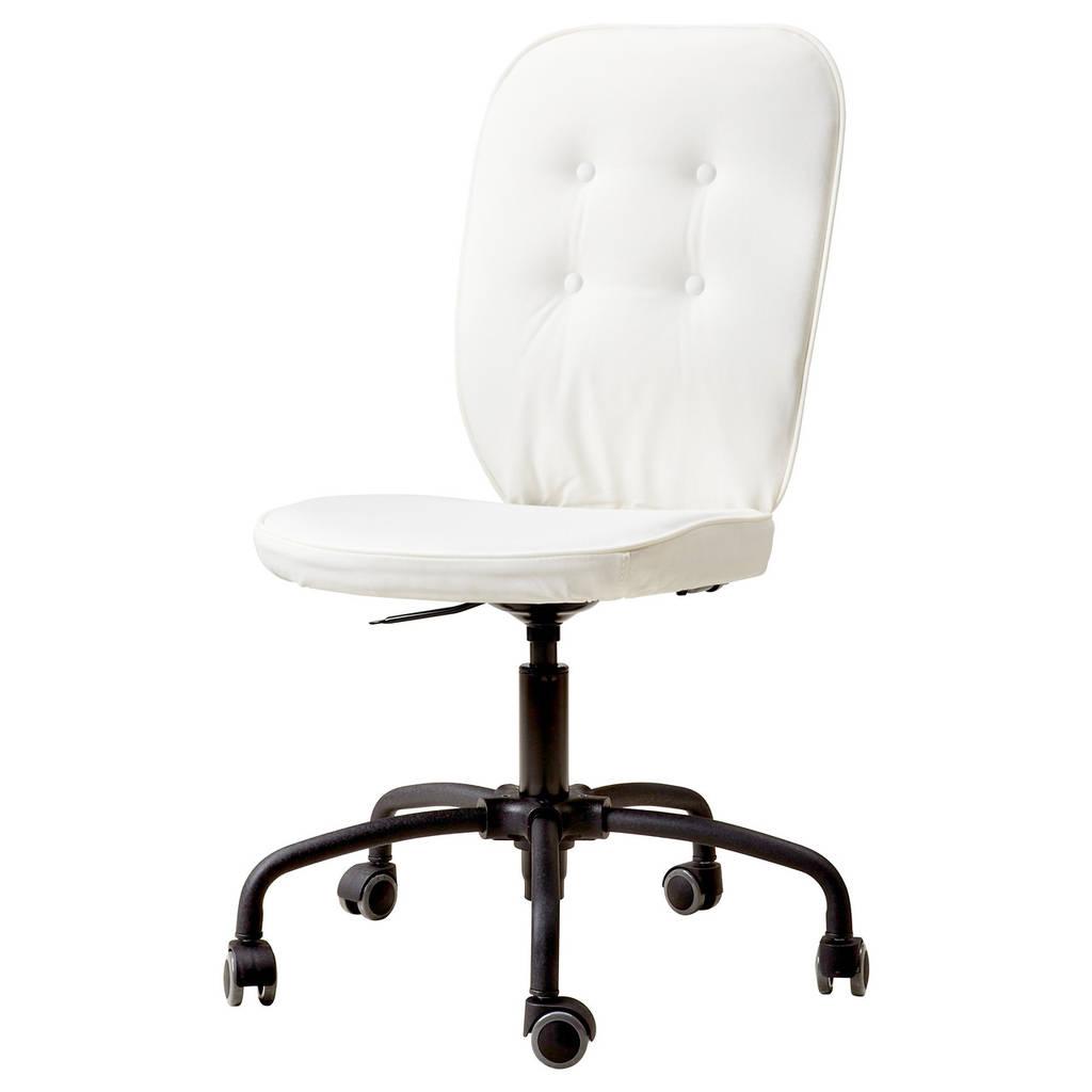 Кресло IKEA LILLHÖJDEN Блекинге белый 402.387.12