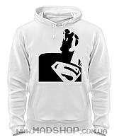 Толстовка Супермен Черно-белый