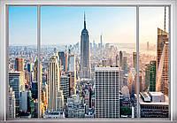 Фотообои *Вид из окна* 192х276
