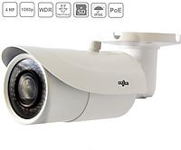 Сетевая IP видеокамера Gazer CI214 (2,8-12мм) цилиндрическая, 4MP, POE, ИК 40м